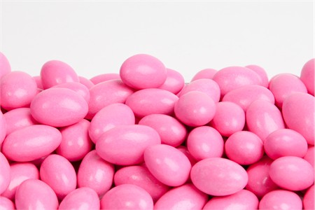 Pink Chocolate Jordan Almonds (1 Pound Bag)