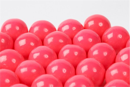 Pink Gourmet Gumballs (4 Pound Bag)