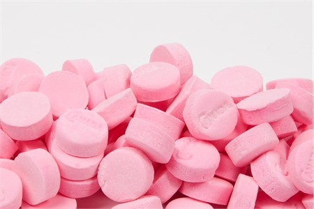 Pink Wintergreen Canada Mints (1 Pound Bag)