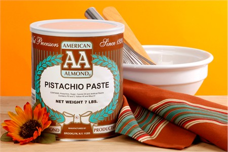 American Almond Pistachio Nut Paste (7 Pound Can)
