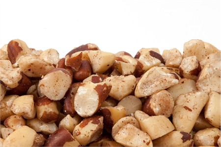 Raw Brazil Nut Pieces (1 Pound Bag)