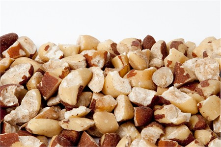 Raw Brazil Nut Pieces (4 Pound Bag)