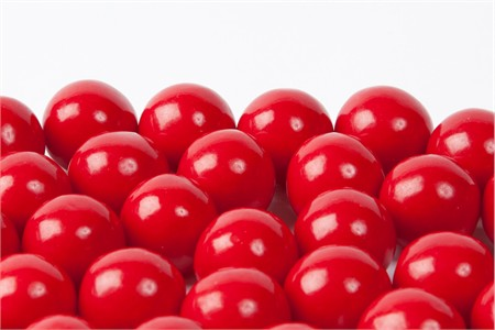Red Gourmet Gumballs (14 Pound Case)