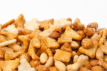 Natural Rice Crackers with Nuts (10 Pound Case)