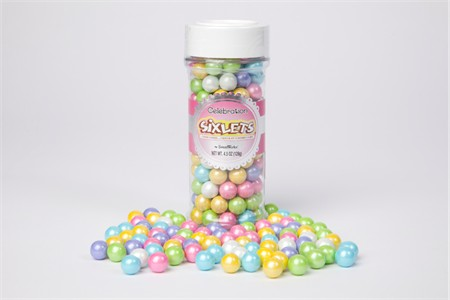 Spring Mix Sixlets (4.5oz Jar)