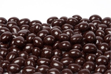 Sugar Free Dark Chocolate Espresso Beans (25 Pound Case)