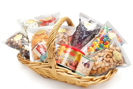 Superior Nut Gift Basket Sampler