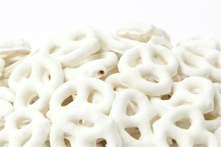 White Frosted Pretzels (3 Pound Bag)