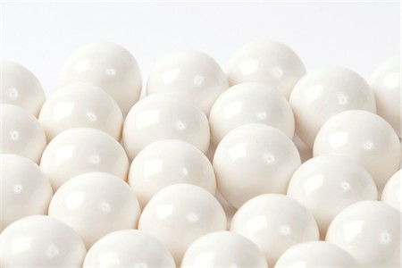 White Gourmet Gumballs (1 Pound Bag)