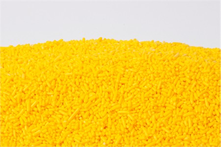 Yellow Sprinkles (25 Pound Case)